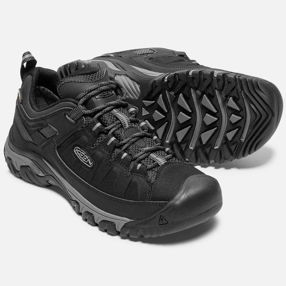 Keen Targhee EXP WP Men's Shoe Black/ Steel Grey - Pair
