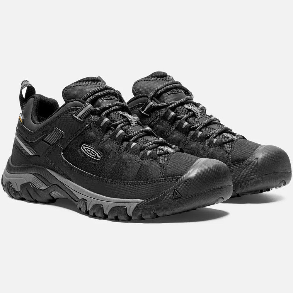 Keen Targhee EXP WP Men's Shoe Black/ Steel Grey - Pair