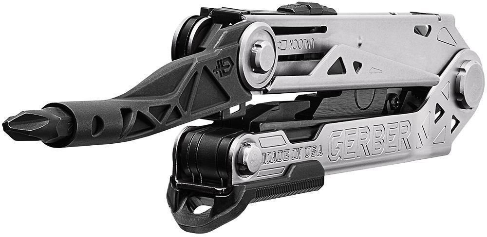 Gerber Centre Drive Multi Tool - Centre-axis bit driver out