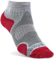 Bridgedale Trail Sport Lightweight Wmn's Ankle Sock Grey Raspberry