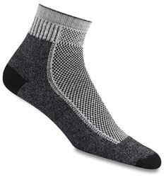 Wigwam Cool Lite Hiker Pro Quarter Sock Large Black