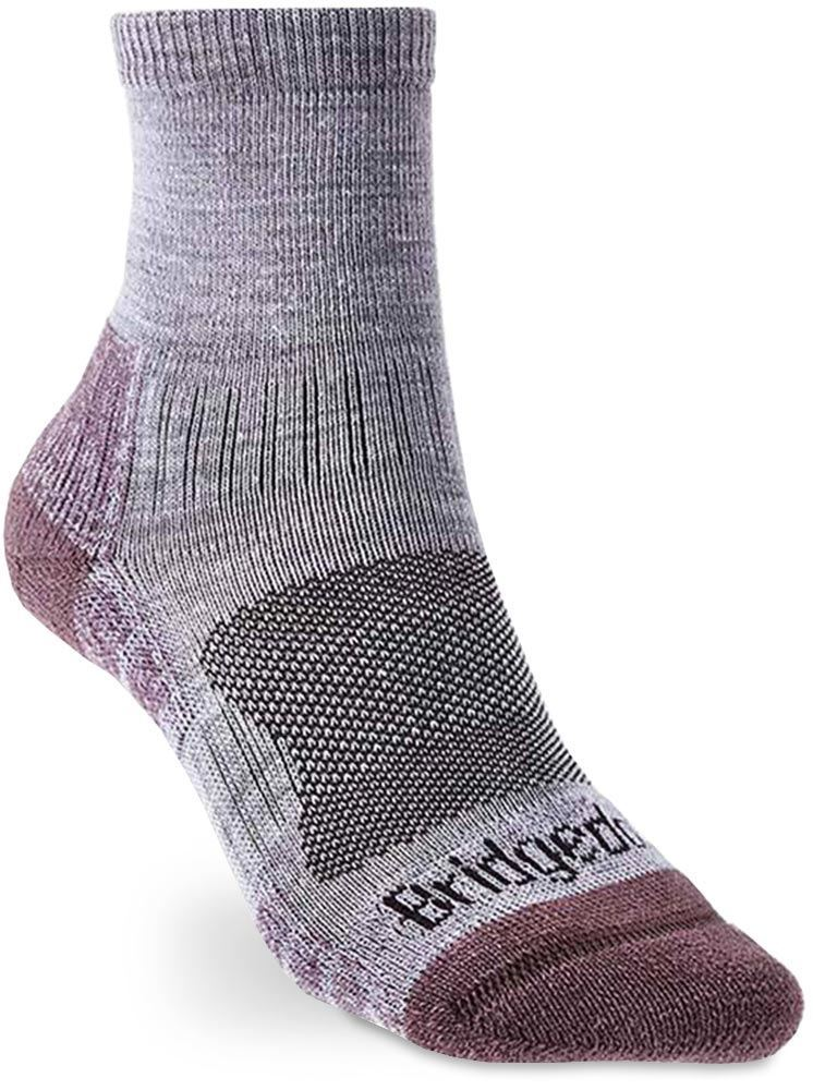 Bridgedale Hike Lightweight Wmn's Ankle Sock Small Heather Dam