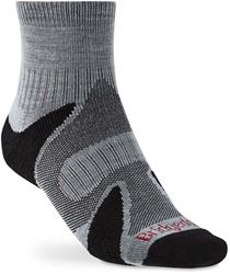 Bridgedale Trail Sport Lightweight Men's Ankle Sock Silver Black