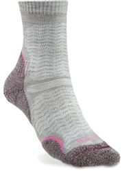 Bridgedale Hike Ultra Light T2 Wmn's Crew Sock Aubergine - Small