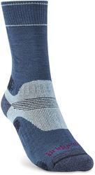 Bridgedale Hike Midweight Women's Boot Sock Blue Sky - Small