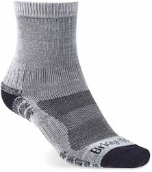 Bridgedale Hike Lightweight Men's Ankle Sock Silver Navy - Medium
