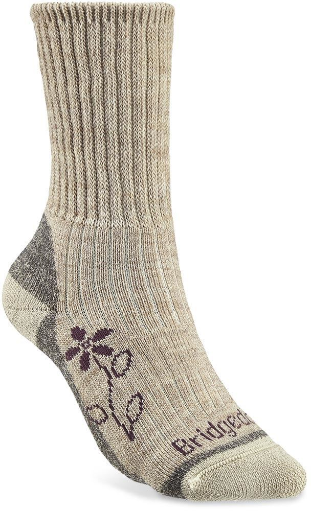 Bridgedale Hike Midweight Comfort Wmn's Boot Sock Natural - Small