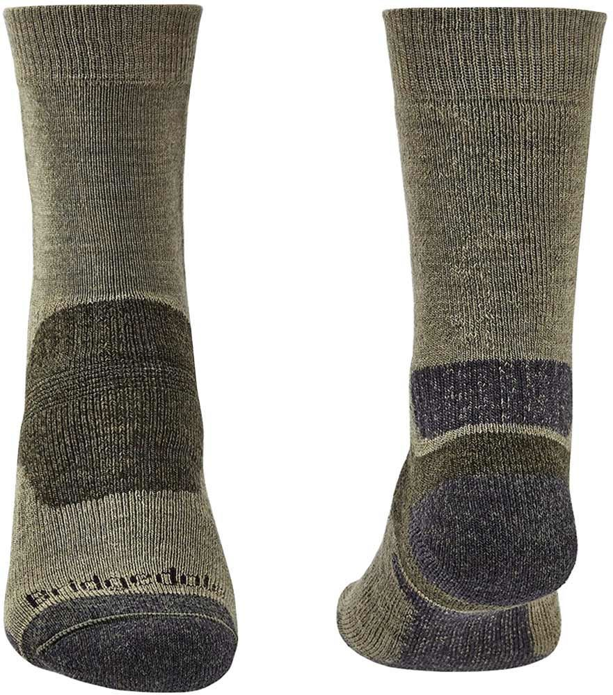 Bridgedale Hike Midweight Men's Boot Sock - Front and Back