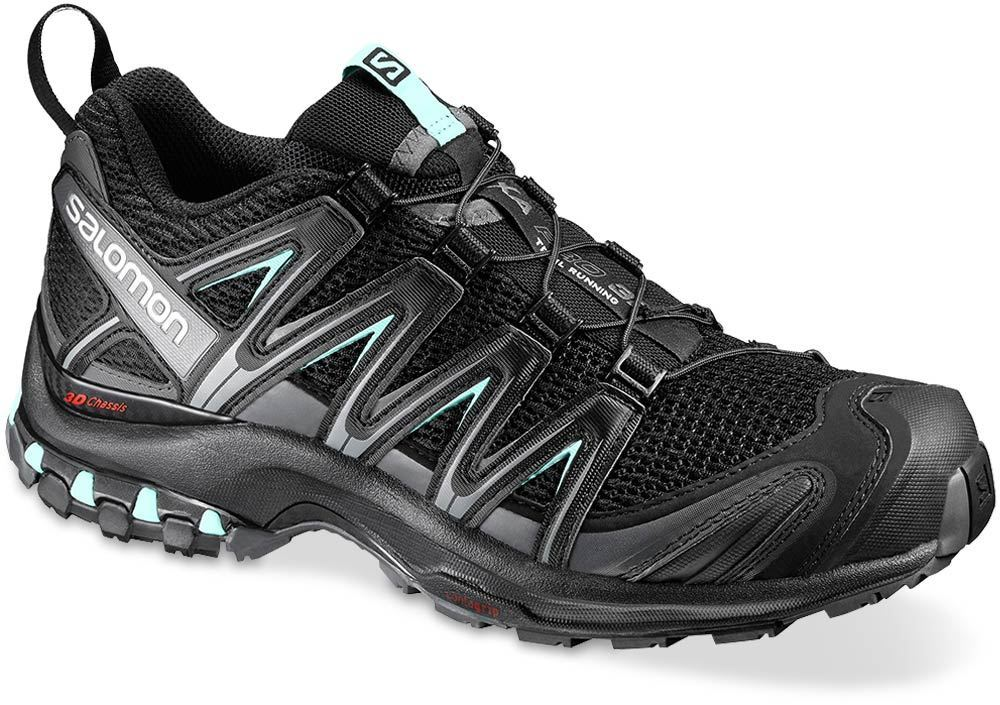 Salomon XA Pro 3D Wmn's Shoe US 6 Black Magnet Fair Aqua