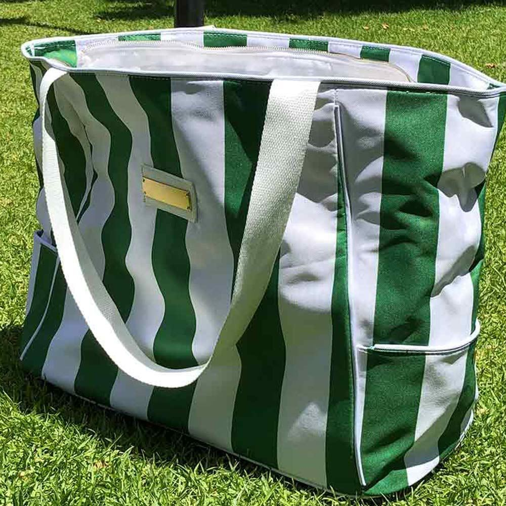 Shadee Fun Moana Beach Shade Green White - Carry Bag