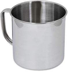 Campfire Stainless Steel Mug 8cm