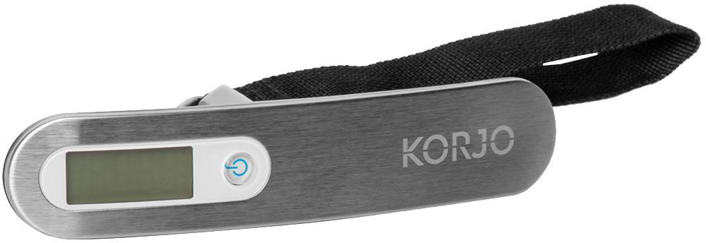 Korjo Digital Luggage Scale - Switched off