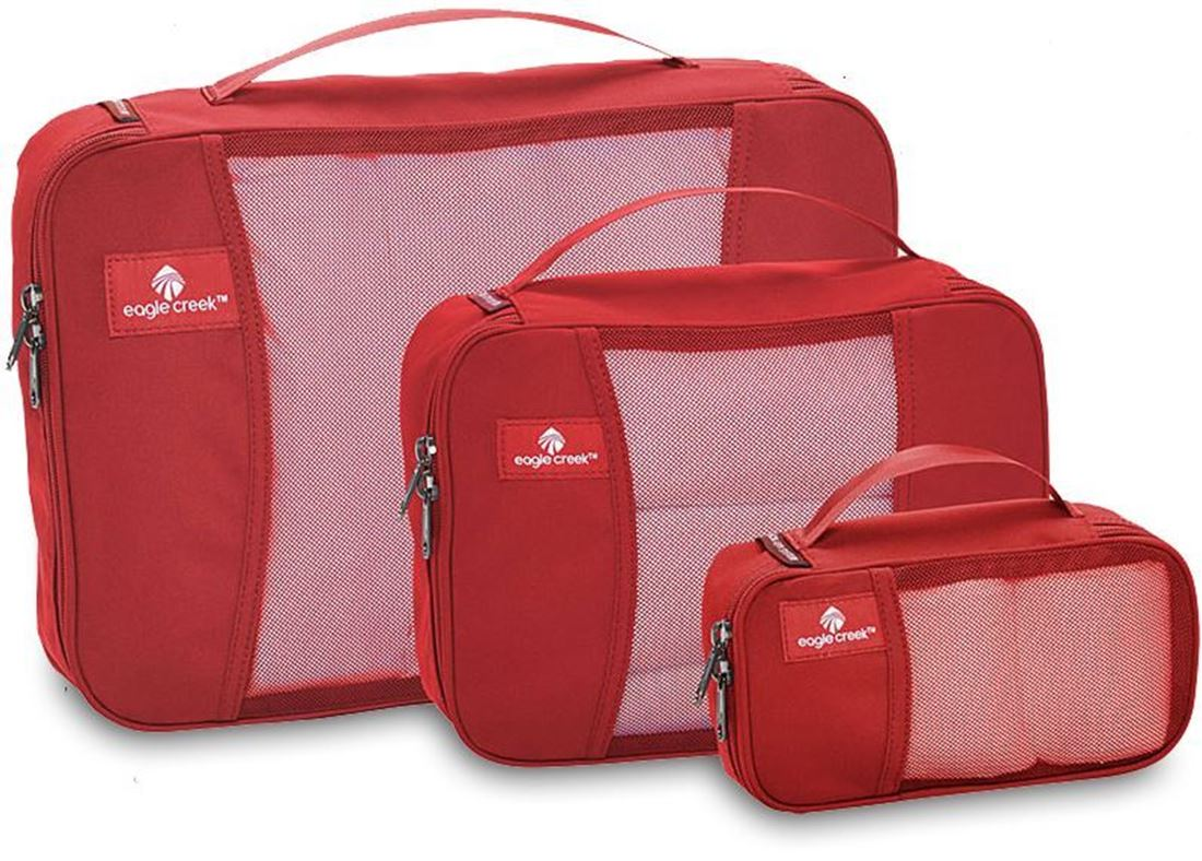 Eagle Creek Cube Packing Set Red