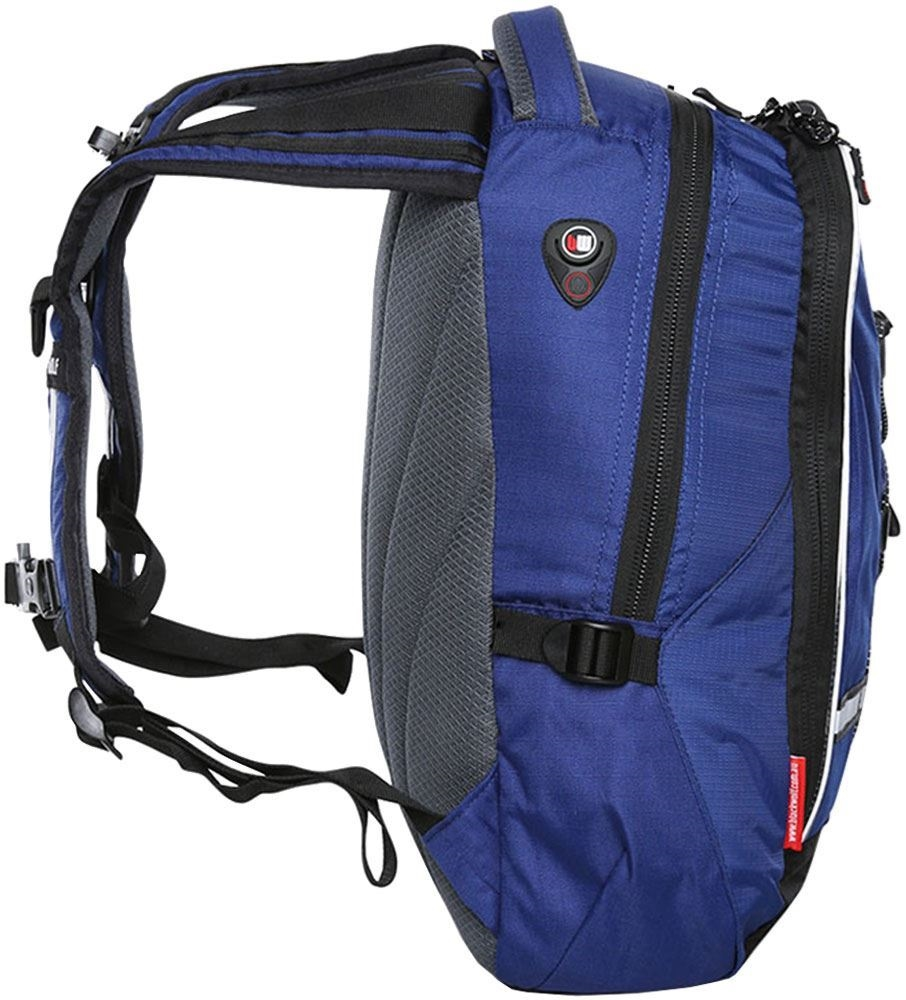 Black Wolf Classic Day Pack 25L Blue  - Side view