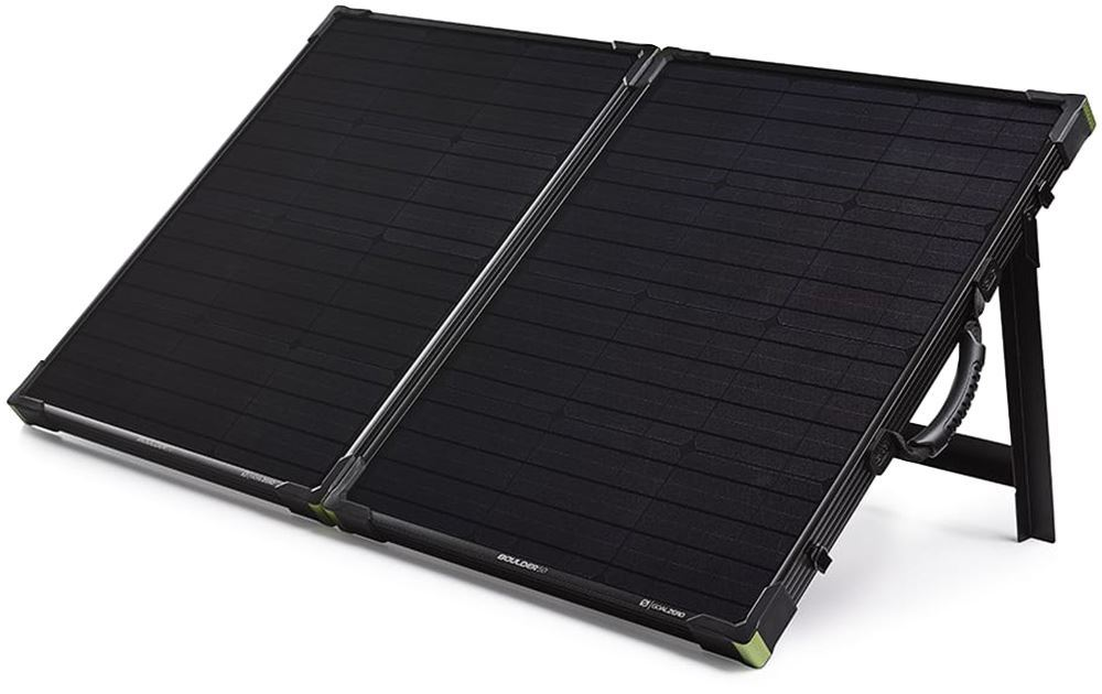 Goal Zero Boulder 100 Briefcase Solar Panels with Stand