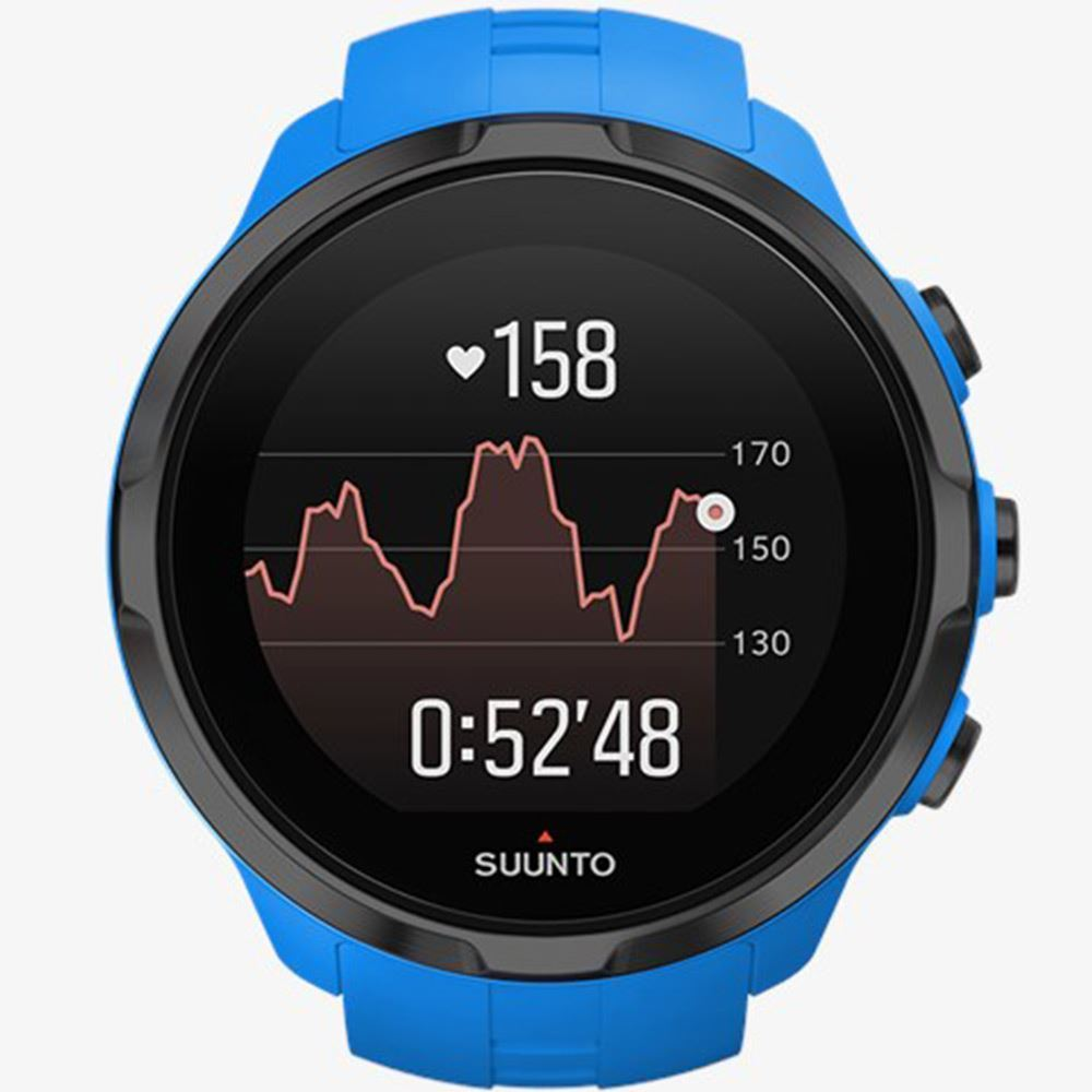 Suunto Spartan Sport Wrist HR Blue Heart Rate