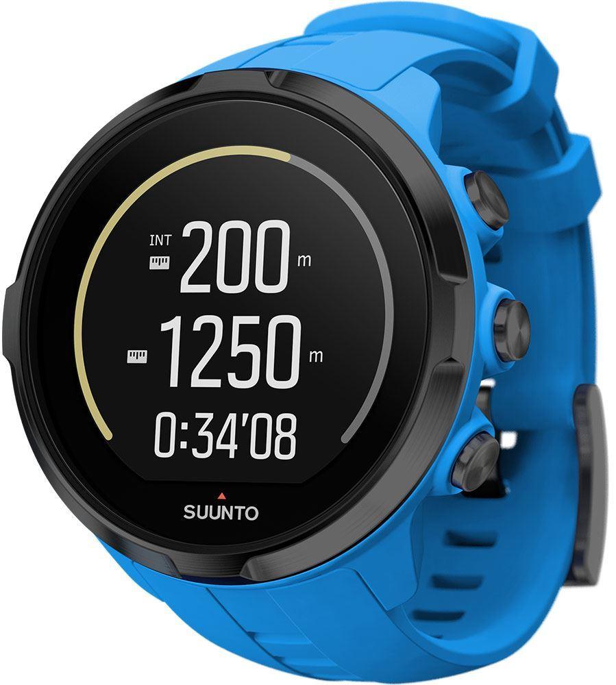 Suunto Spartan Sport Wrist HR Blue Stats