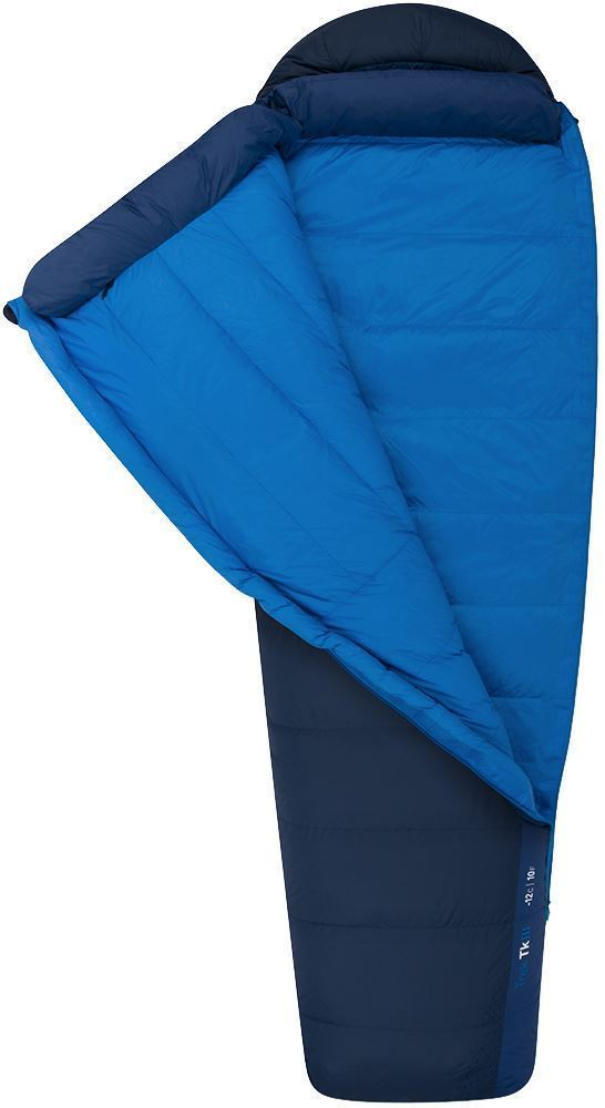 Sea To Summit Trek Tk3 Sleeping Bag (-6°C) Two-way #5 YKK side and separate foot zip