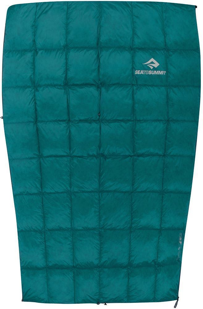 Sea To Summit Traveller Tr1 Sleeping Bag (14°C) Doubles as a top quilt to significantly extend the warmth of another sleeping bag