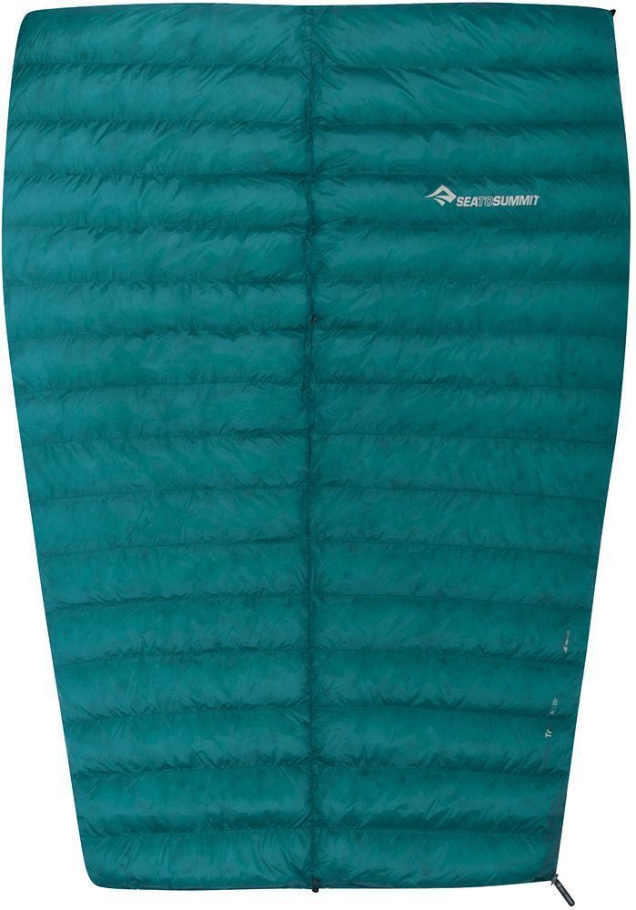 Sea To Summit Traveller Tr2 Sleeping Bag (5°C) TrII uses full horizontal baffles and additional down fill for extra warmth