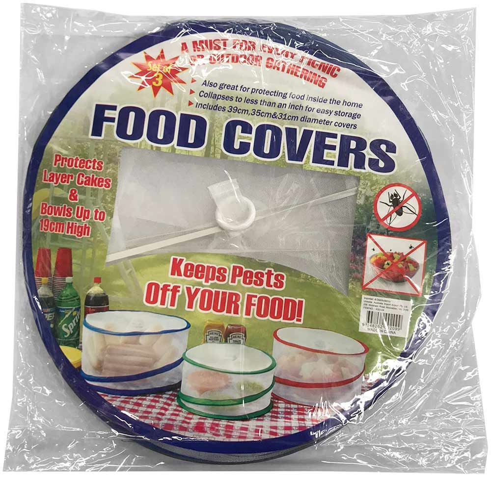 Collapsible Food Covers 3Pk - Packaging