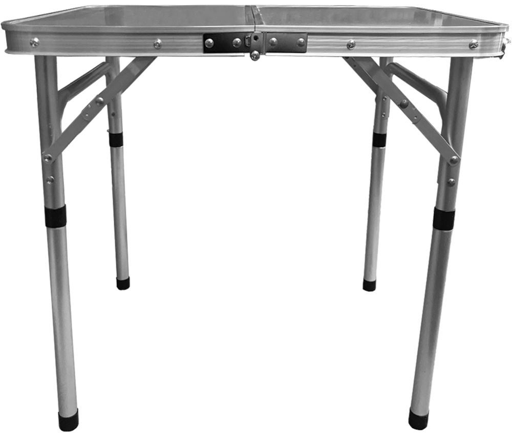 Australian RV Compact Folding Side Table - Front view