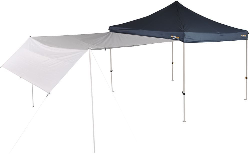 OZtrail Gazebo Monsoon Rainfly 3.0 Awning - Slightly bent