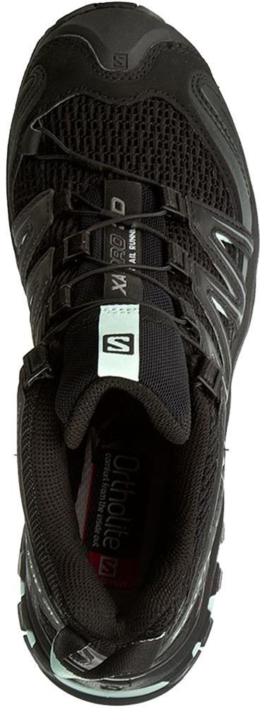Salomon XA Pro 3D Women's Shoe Black Magnet/ Fair Aqua - Top view
