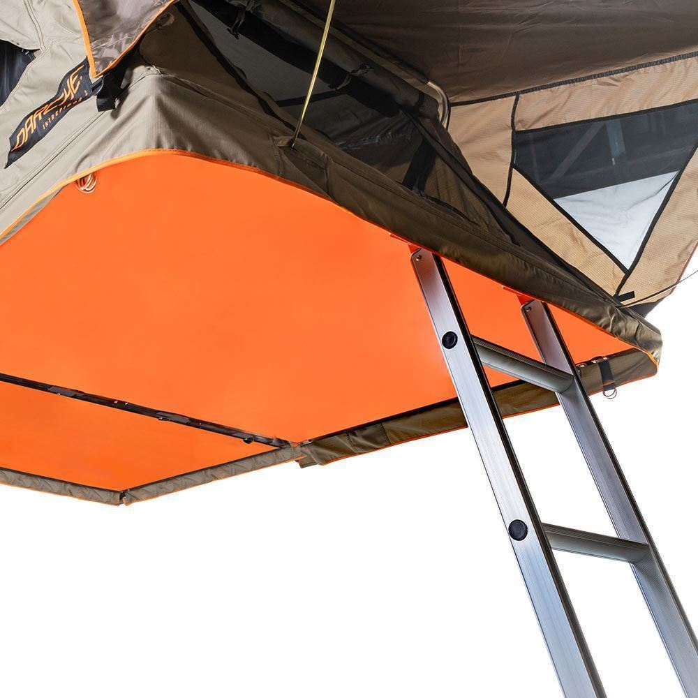 Darche Intrepidor 2 Rooftop Tent - Ladder leading to tent opening