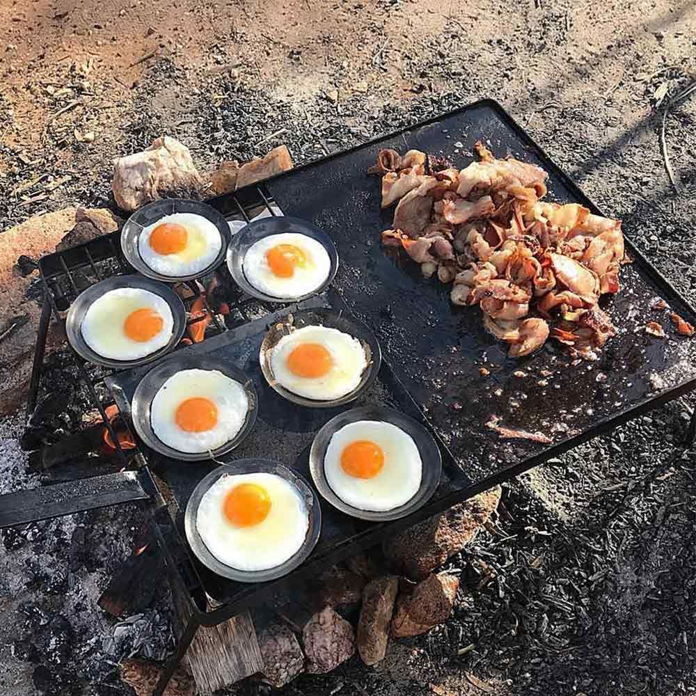 Hillbilly Egglet Egg Frying Dish Frying Eggs Camping