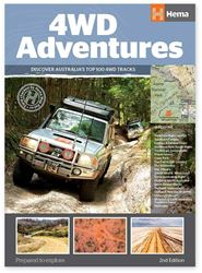 Hema Maps 4WD Adventures Book 2nd Edition