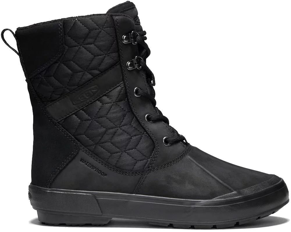 Keen Elsa II WP Quilted Wmn's Boot Black Black