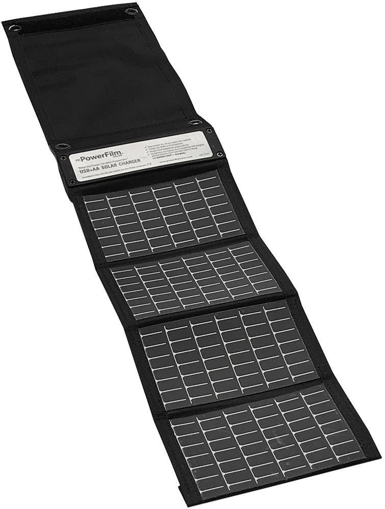 PowerFilm USB+AA Foldable Solar Charger 1.5W