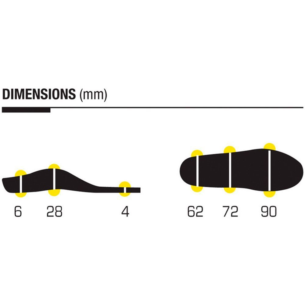 Sidas 3 Feet Activ Insole Low - Diagram