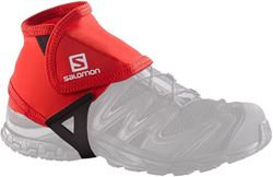 Salomon Trail Gaiters Low Small Red