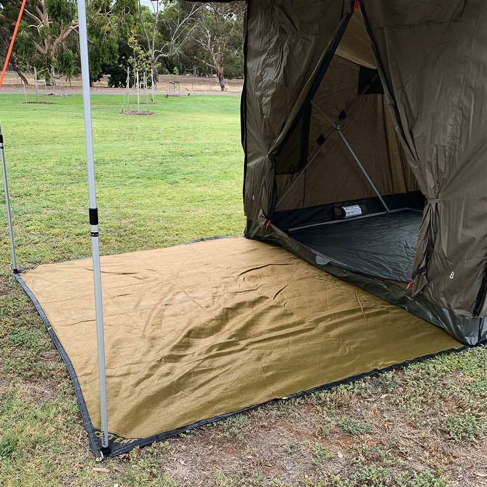 Oztent Mesh Floor Saver - Under RV5 tent