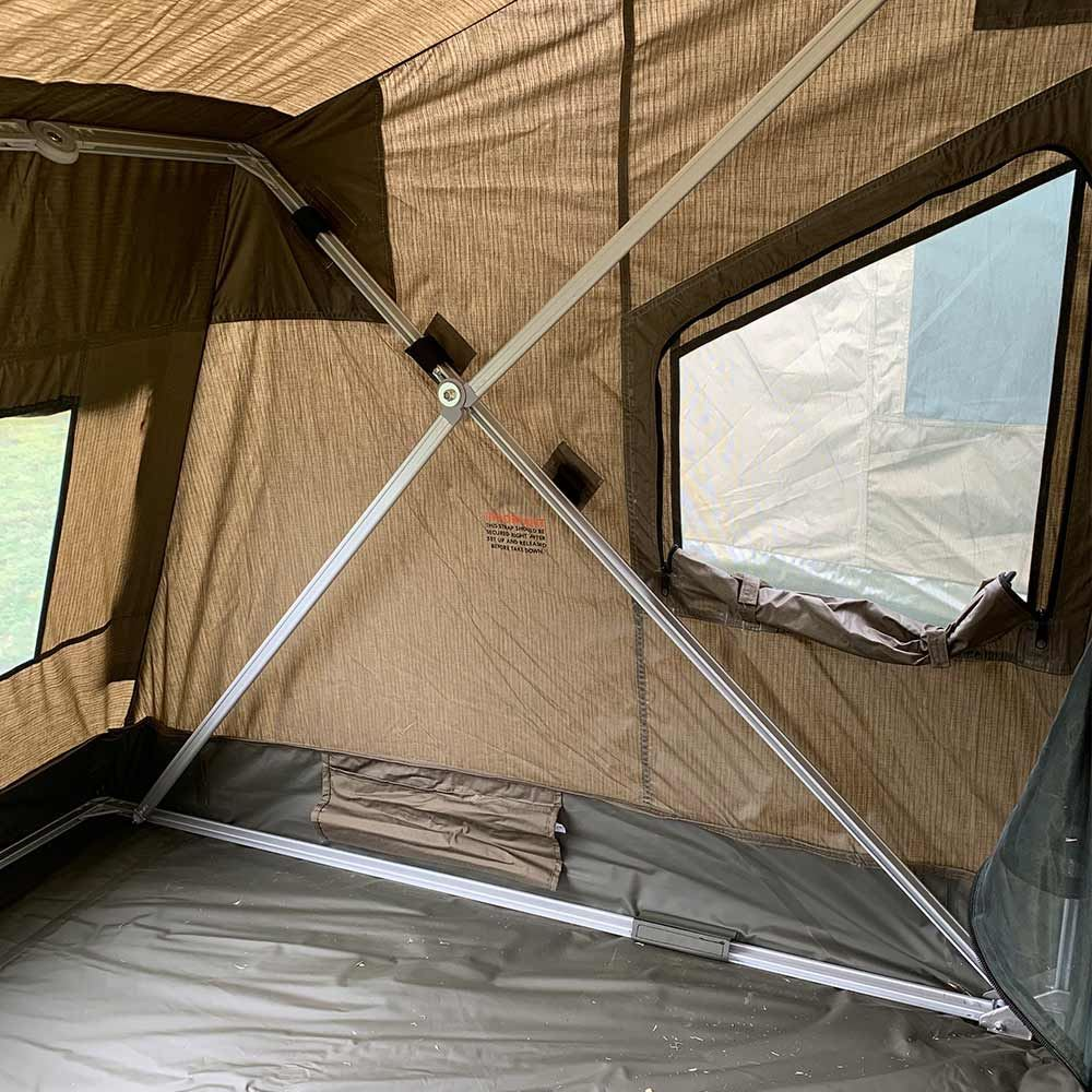 Oztent RV2 Canvas Touring Tent - Internal side wall