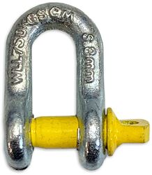 Haigh D-Shackle 8mm 750 Kg