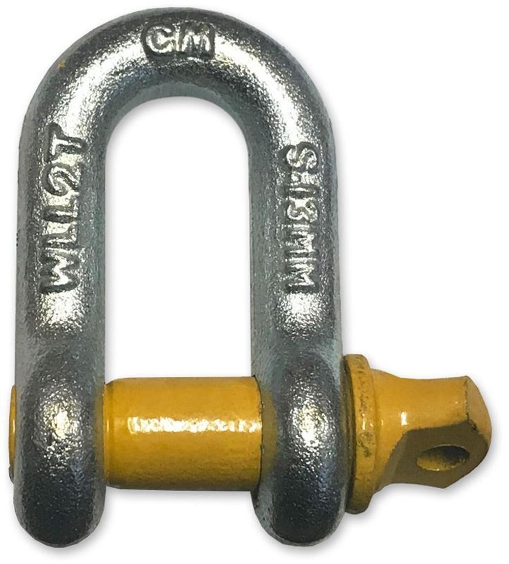 Haigh D-Shackle Grade S 13mm 2T
