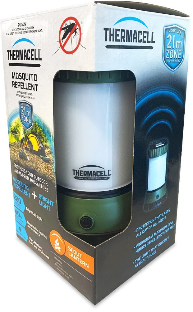 Thermacell Mosquito Repellent Scout Lantern - Packaging