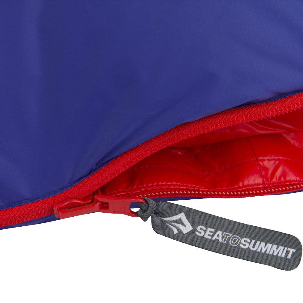 Sea To Summit Explore Ex3 Sleeping Bag (-8°C) Six #5 YKK zip sliders on three two-way zips
