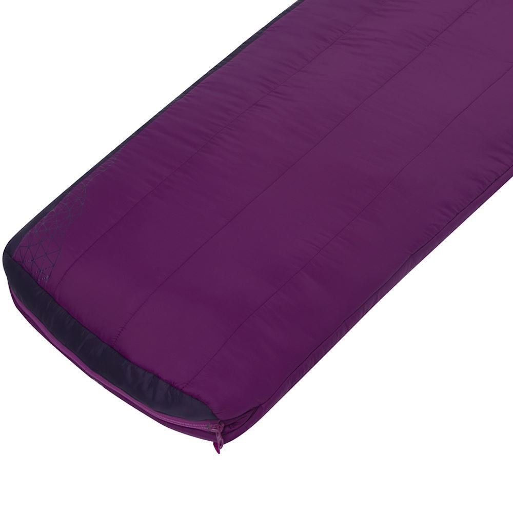 Sea To Summit Quest Qu1 Right Zip Wmn's Sleeping Bag (3°C) Thicker footbox insulation for increased warmth