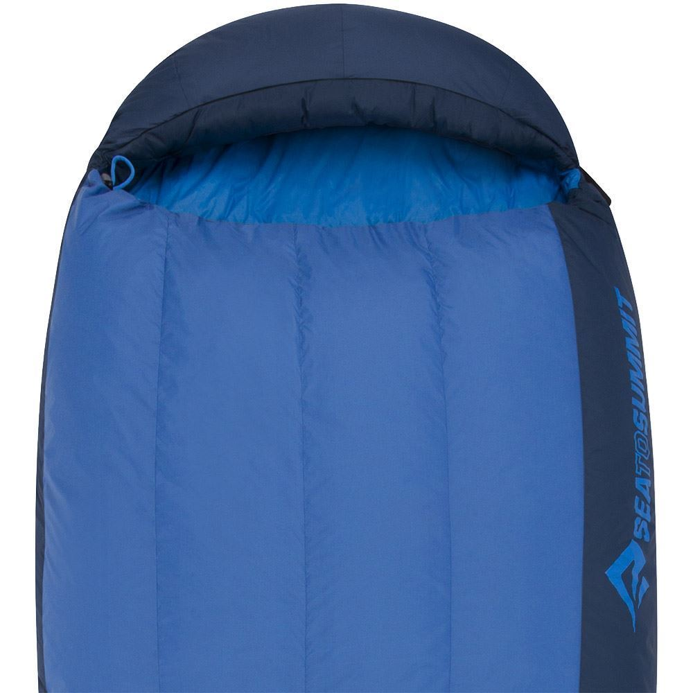 Sea To Summit Trek Tk1 Sleeping Bag (5°C) 3D hood draws in tight when needed