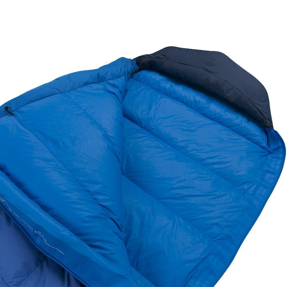 Sea To Summit Trek Tk1 Sleeping Bag (5°C) Trek Tk1 has baffled top and stitch through base construction
