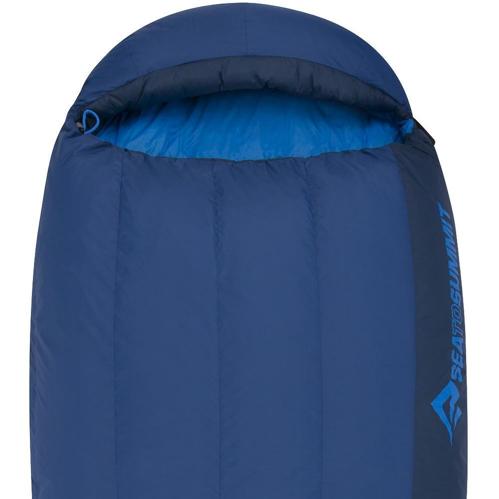 Sea To Summit Trek Tk2 Sleeping Bag (-1°C) Hood and Neck Draft Tube