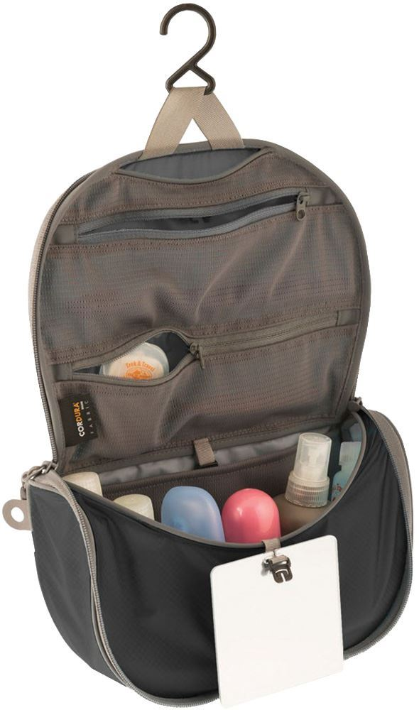 6fbb17e2410 Sea to Summit Hanging Toiletry Bag Small Black | Snowys Outdoors