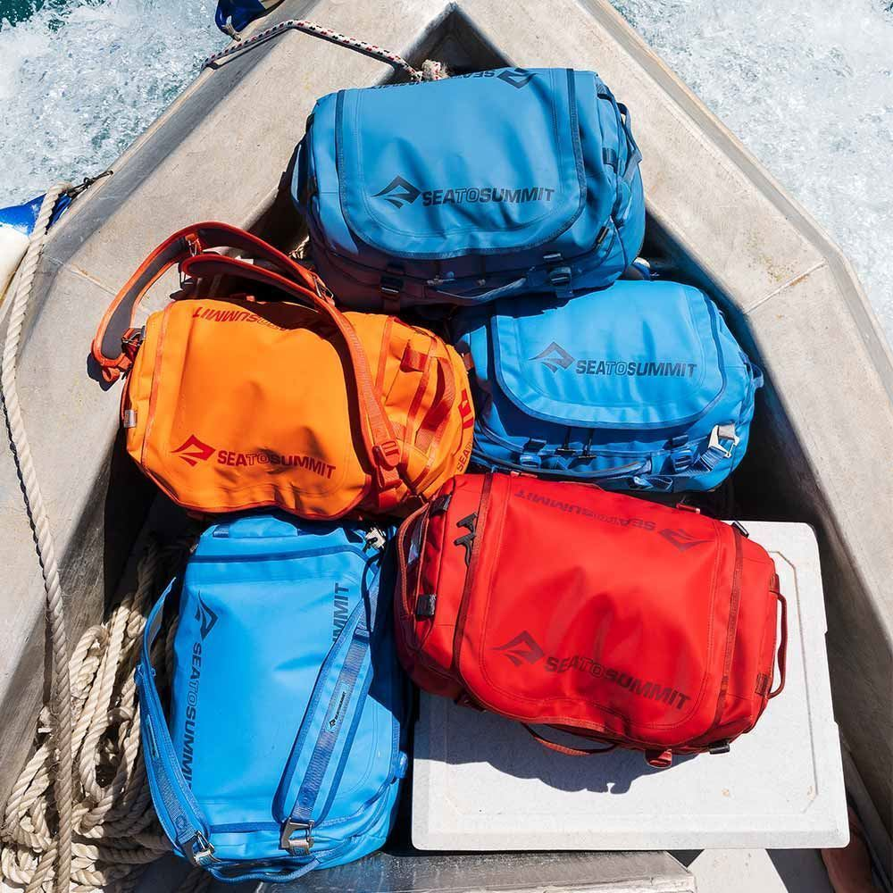 Sea to Summit Duffle Bags - duffle bags on boat