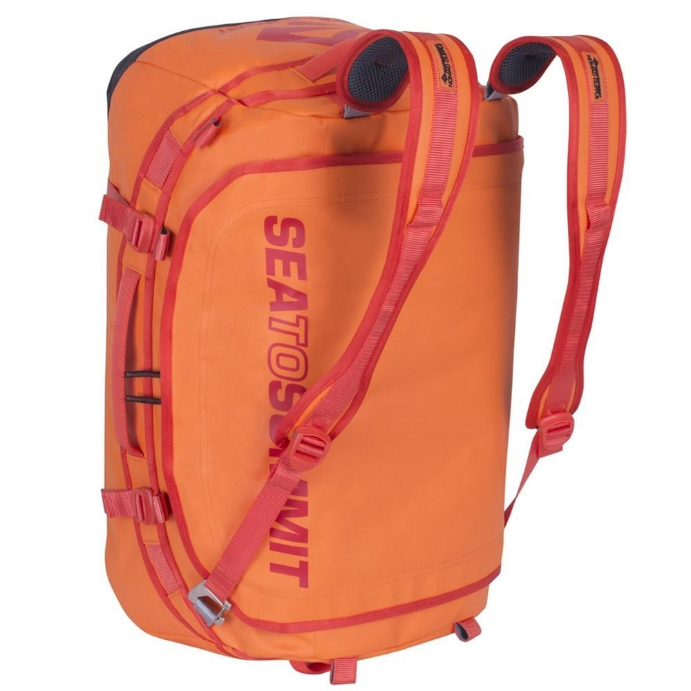 ffe9e1eca6ee Sea to Summit Duffle Bag 65 Orange - Backpack straps