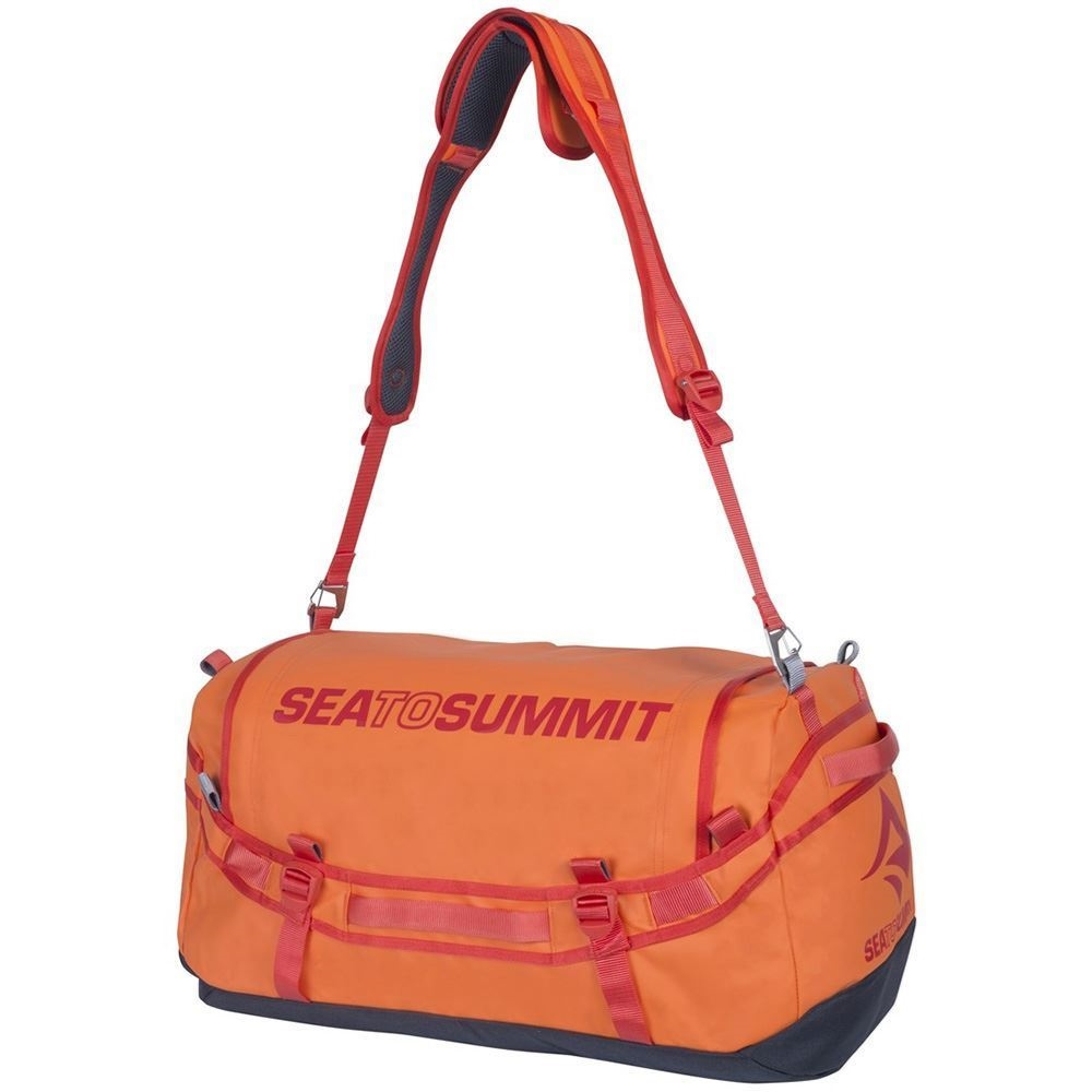 Sea to Summit Duffle Bag 65 Orange - Shoulder strap
