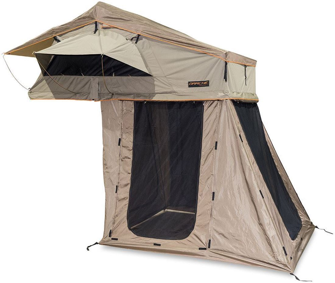Darche Panorama 2 Rooftop Tent + Annex Versatile 210D oxford polyester ripstop 3-way annex